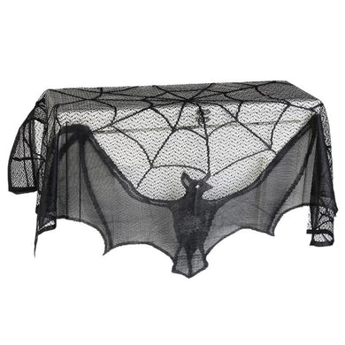 60*20inch 1 Pcs  Spiderweb Fireplace Mantle