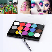 Load image into Gallery viewer, 15Colors Face Painting Kit Body Makeup