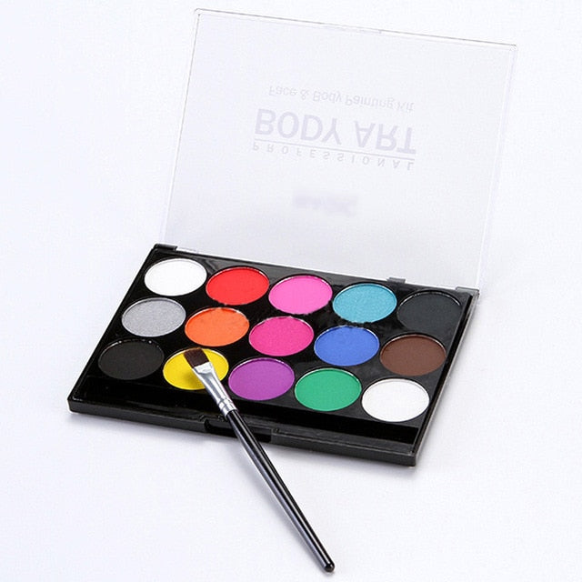 15Colors Face Painting Kit Body Makeup