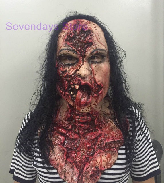 Adult Latex Scary Mask Full Head Face