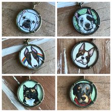 Load image into Gallery viewer, A Custom Design Hand Painted Watercolor Necklace of Your Choice