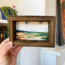 Load image into Gallery viewer, 5. August - Original Watercolor Box Painting, Landscape Art