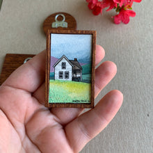Load image into Gallery viewer, Old Farmhouse, Miniature Painting - Small Original Watercolor Art