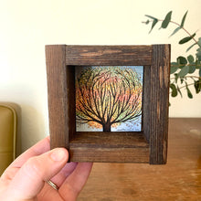 Load image into Gallery viewer, Fall Maple Tree - Original Watercolor Box Painting, Trees Collection