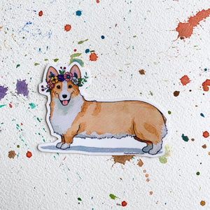 Corgi Dog Vinyl Stickers, 3 inch, Doggos Sticker, FREE SHIPPING