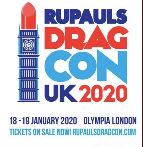 RuPauls Drag Con UK Press On Nails and Nail Gloves by Ms Candy Blog
