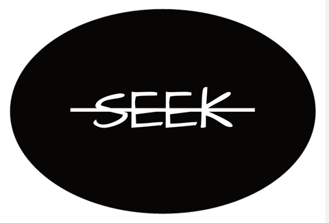 """Seek"" Sticker"