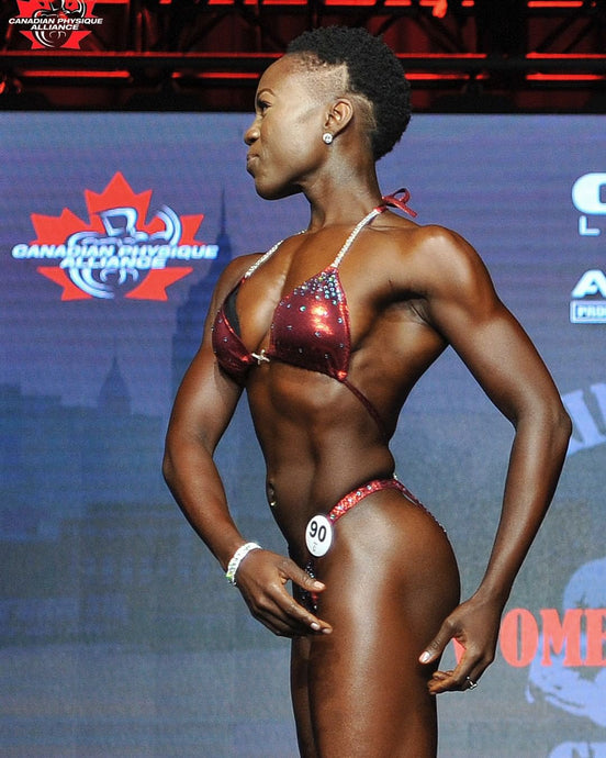 Figure Competitor and PT Tisha Henry Helps Women Get Strong & Sexy