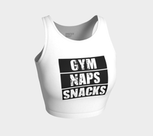 Load image into Gallery viewer, GYM NAPS SNACK Crop Top