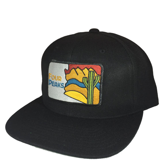 The Four Peaks Classic Snapback - Iconic Arizona