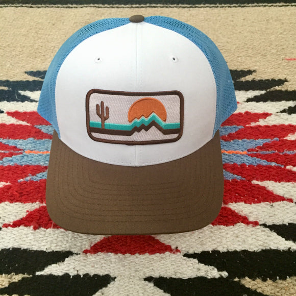 The Retrozona Low Profile Trucker - Iconic Arizona