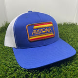 The AZ Stripes Curved Trucker