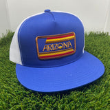 The AZ Stripes Flat Brim Trucker - Iconic Arizona