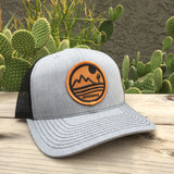 The Sonoran Curved Trucker - Iconic Arizona