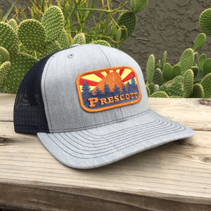The Prescott Curved Trucker - Iconic Arizona