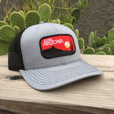 The Desert Dusk Curved Trucker - Iconic Arizona