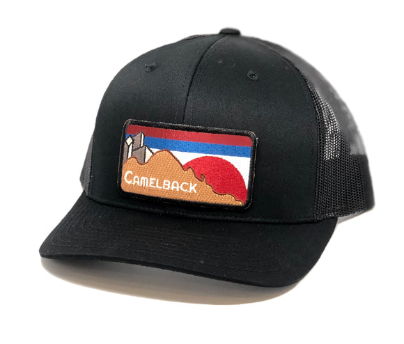 The Camelback Curved Trucker - Iconic Arizona