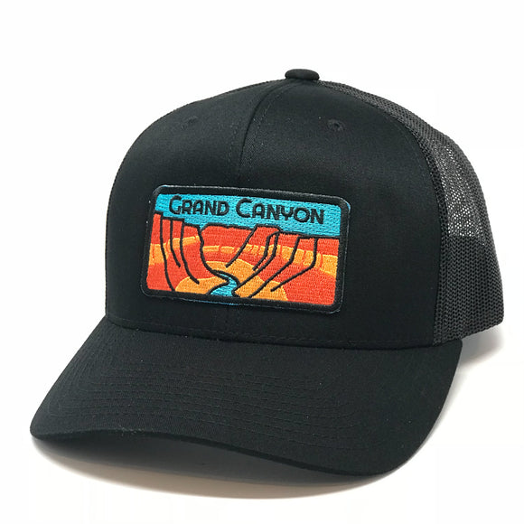 The Grand Canyon Curved Trucker - Iconic Arizona