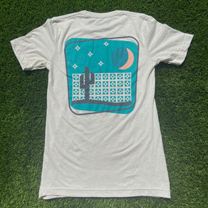 The Breeze Block Tee - Cement - Iconic Arizona