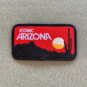 Desert Dusk Patch - Iconic Arizona