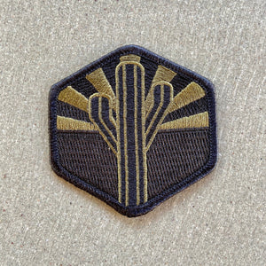 The Military Sentinel Patch - Iconic Arizona