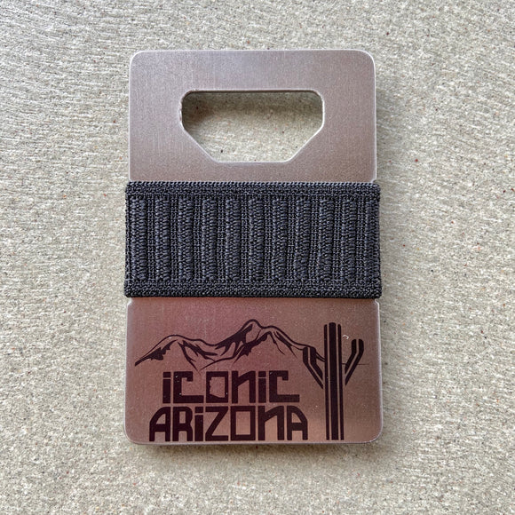 Iconic Spine Wallet - Logo Industrial - Iconic Arizona