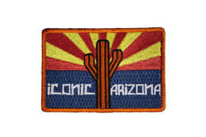 """AZ Flag Logo"" Patch - Iconic Arizona"