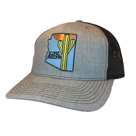 The 48 Curved Trucker - Iconic Arizona