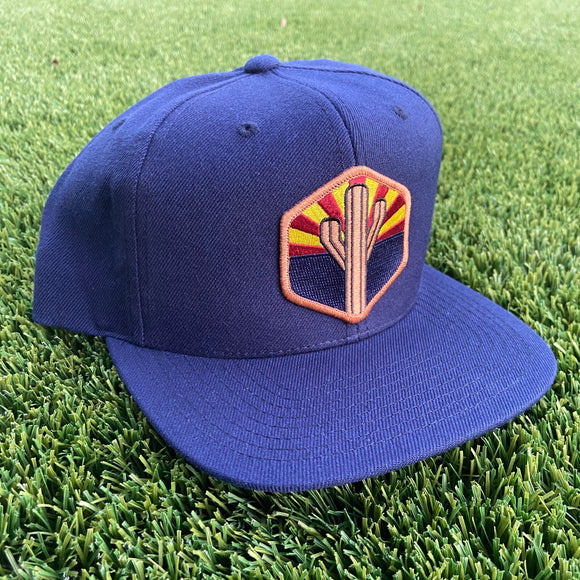 The AZ Sentinel Classic Snapback - Iconic Arizona