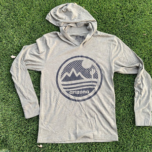 The Sonoran Hoodie - Military Green - Iconic Arizona