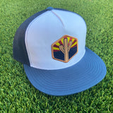 The AZ Sentinel Flat Brim Trucker - Iconic Arizona