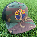 The AZ Sentinel Curved Trucker - Iconic Arizona