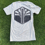 The Sentinel Tee - Cement - Iconic Arizona