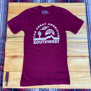 The Great American Southwest Tee - Iconic Arizona
