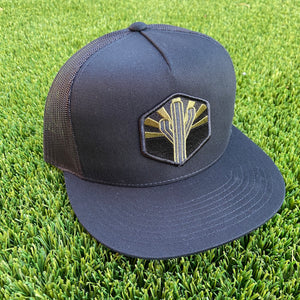 The Military Sentinel Flat Brim Trucker - Iconic Arizona