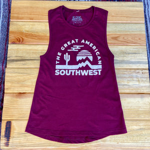 The Great American Southwest Muscle Tank - Iconic Arizona