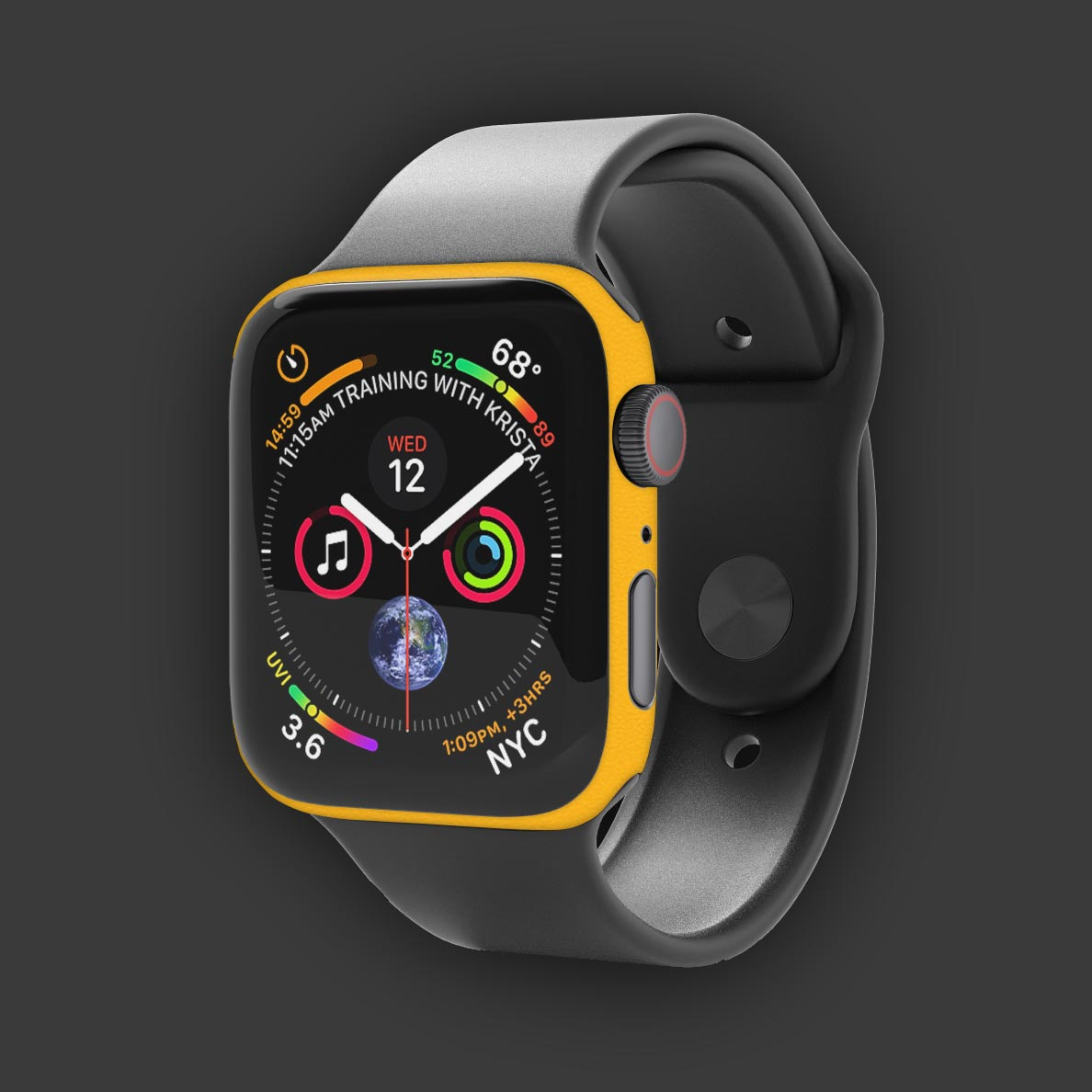Apple-Watch-Series-4-40mm-in-gelb