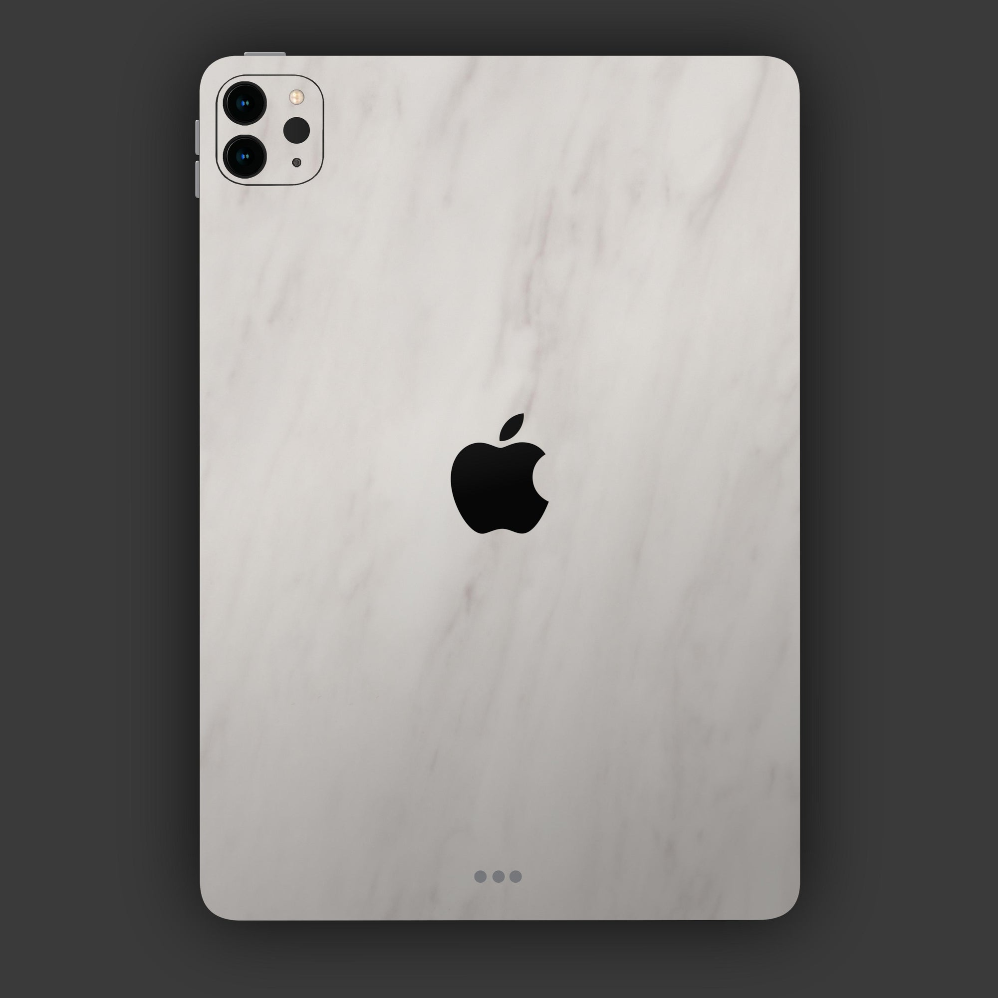 iPad-Pro-11-2020-skin-mit-Apple-Logo-in-Marmor