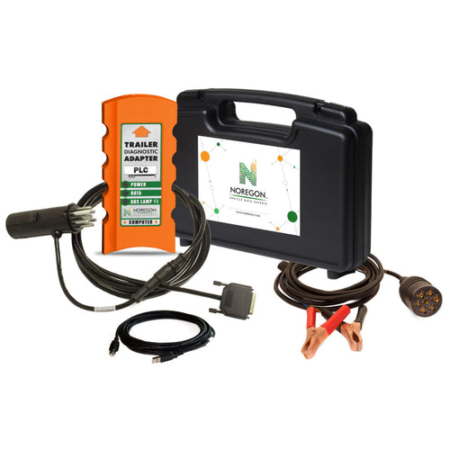 Noregon® Trailer Diagnostic Adapter Kit w/ Power Cable