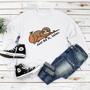 Harajuku Sloth Sweatshirt