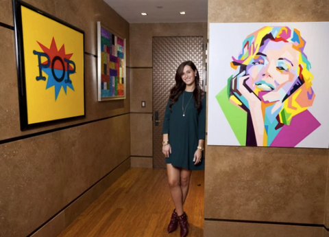 Inside A Pop Artist'S Sparkly Upper East Side Spread