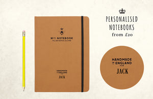 PERSONALISED NOTEBOOKS & JOURNALS