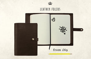 LEATHER FOLIOS