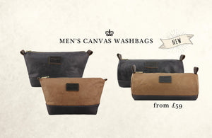 CANVAS WASHBAGS