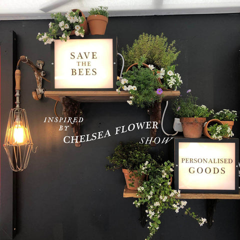 Will Bees Bespoke inspired by RHS Chelsea Flower Show