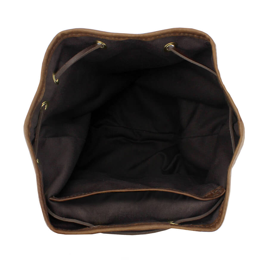 Gertie Backpack - Black Velvet - Will Bees Bespoke