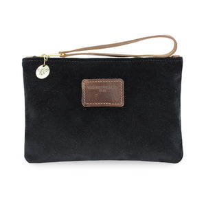 Frances Clutch - Black Velvet