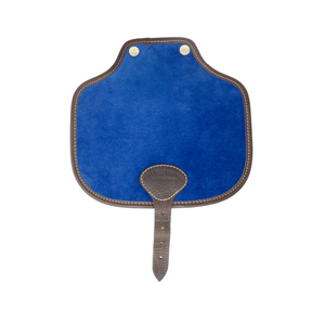 Additional Saddle Bag Panel - Blue Velvet