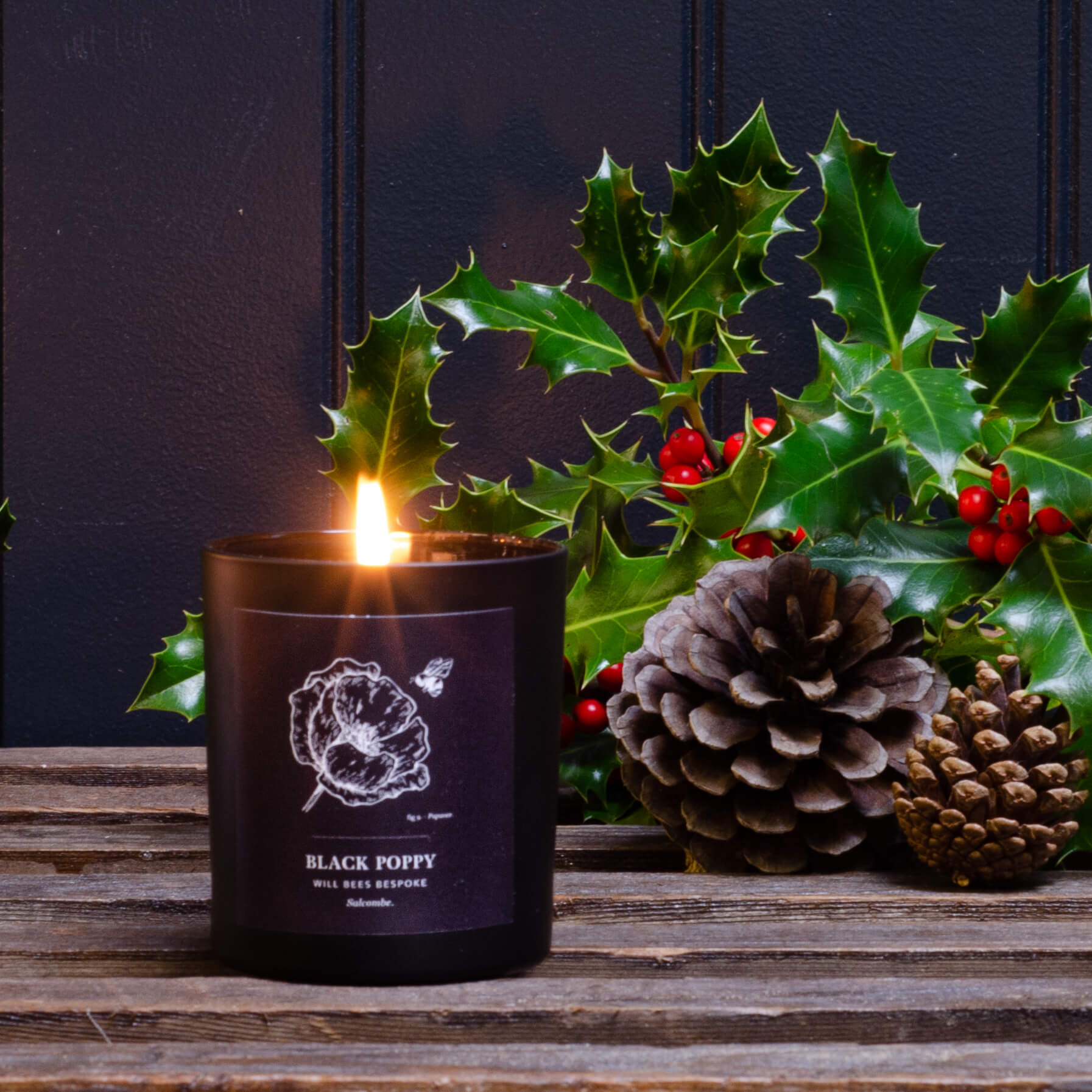 Candle - Black Poppy