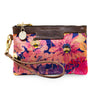 Premium Diana Mini Clutch - Bumblebee Paradise in Pink sunset - Will Bees Bespoke